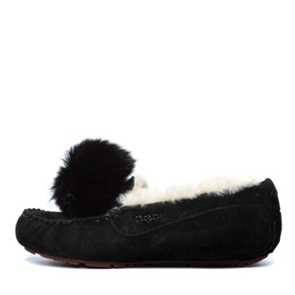 Мокасины Dakota Pom Pom New Black - фото 5