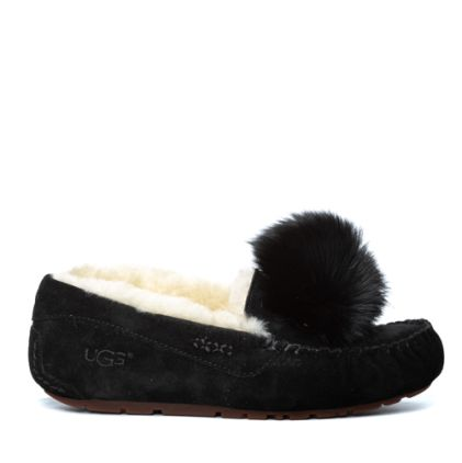 Мокасины Dakota Pom Pom New Black - фото 4