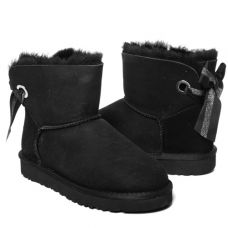 Угги Bailey Bow Mini Customizable Black
