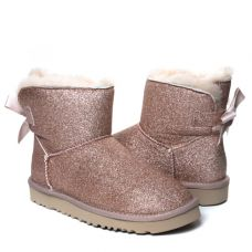 Угги Bailey Bow Mini Sparkle Boot Dusk