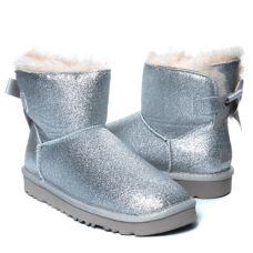 Угги Bailey Bow Mini Sparkle Boot Grey