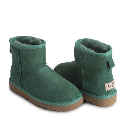 Угги Classic Mini Green - фото