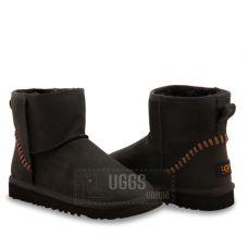Угги Men's Mini Leather Black