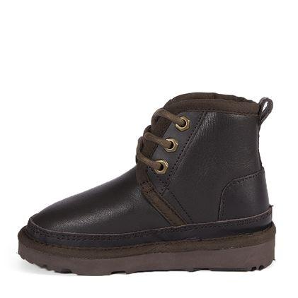 Ботинки Kids Boots Neumel Metallic Chocolate - фото 3