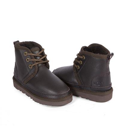 Ботинки Kids Boots Neumel Metallic Chocolate - фото