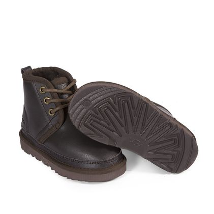 Ботинки Kids Boots Neumel Metallic Chocolate - фото 5