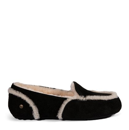 Мокасины Loafer Slippers Hailey Black - фото 3