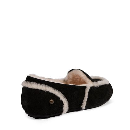 Мокасины Loafer Slippers Hailey Black - фото 4