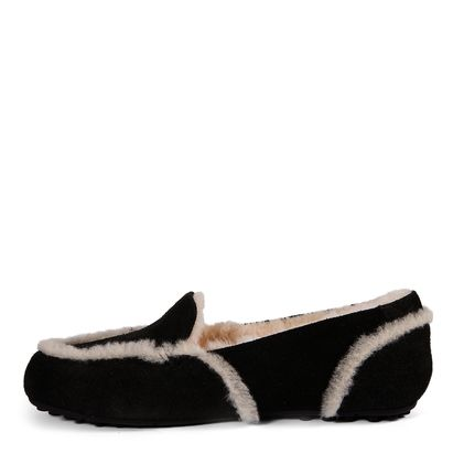Мокасины Loafer Slippers Hailey Black - фото 5