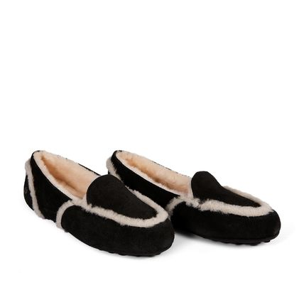 Мокасины Loafer Slippers Hailey Black - фото 2