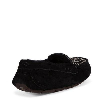 Мокасины Ansley Studded Bling Black - фото 4