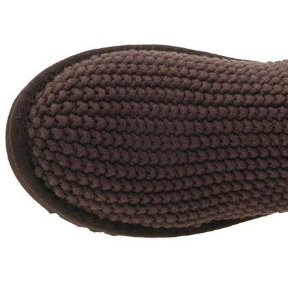 Угги Argyle Knit Chocolate - фото 5