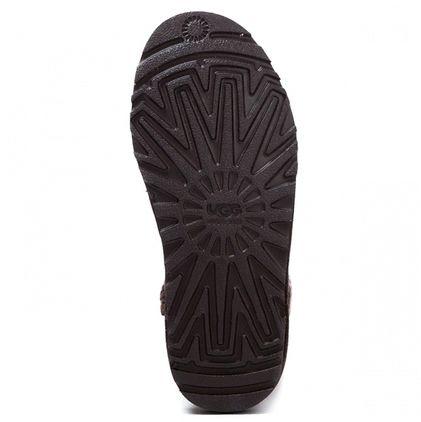 Угги Argyle Knit Chocolate - фото 6