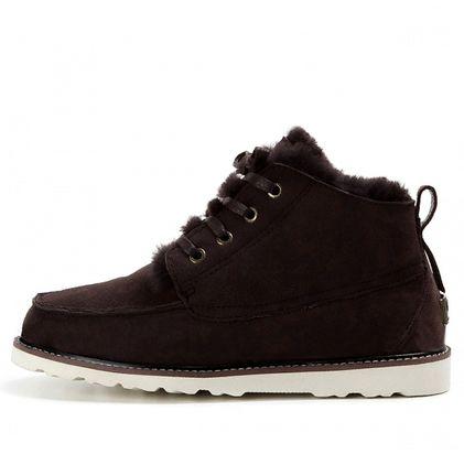 Ботинки Beckham Chocolate - фото 2