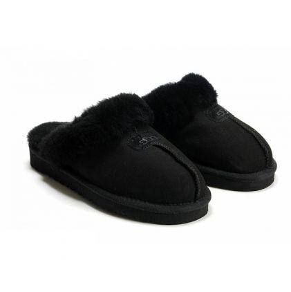 Женские тапочки Coquette Slippers Black - фото