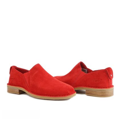 Лоферы Loafers Red - фото
