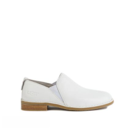 Лоферы Loafers White Leather - фото 7