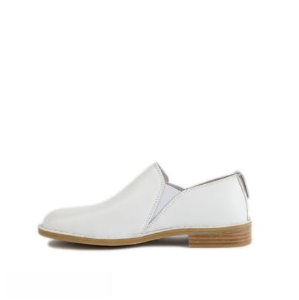 Лоферы Loafers White Leather - фото 6