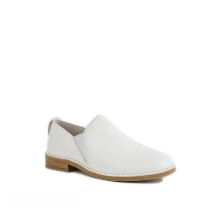 Лоферы Loafers White Leather - фото 5