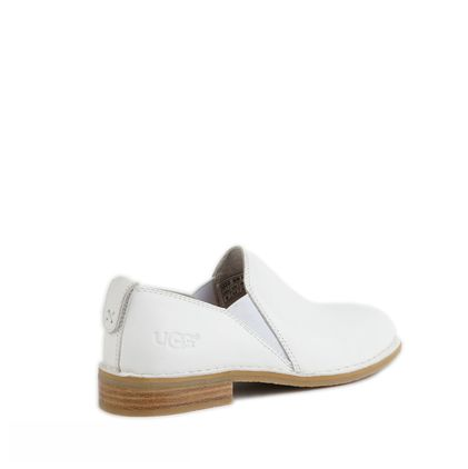 Лоферы Loafers White Leather - фото 4