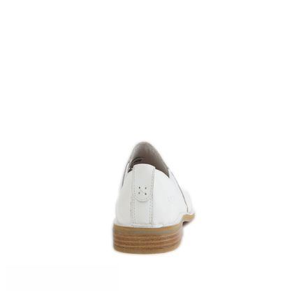 Лоферы Loafers White Leather - фото 2